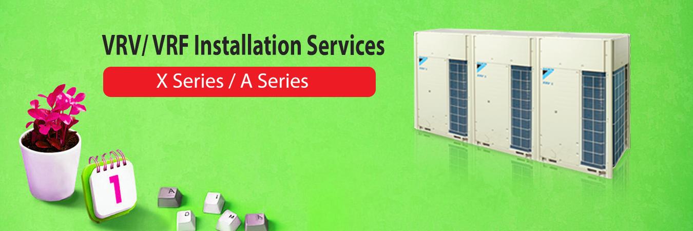 vrv-vrf installation services